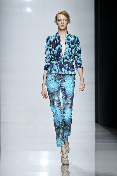 Emanuel Ungaro at Paris Spring 2012