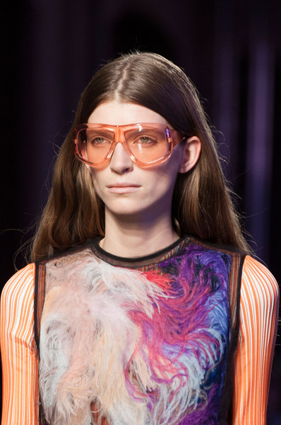 Emilio Pucci at Milan Spring 2016 (Details) [eyewear,hair,glasses,face,fashion,hairstyle,beauty,fashion show,vision care,runway,sunglasses,emilio pucci,fashion,runway,glasses,model,fashion design,hairstyle,milan fashion week,fashion show,emilio pucci,fashion,ready-to-wear,runway,model,glasses,fashion design,sunglasses,fashion show,spring]