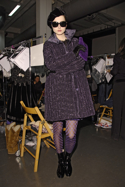 Emporio Armani at Milan Fall 2008 (Backstage)