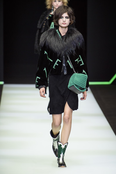 Emporio Armani at Milan Fall 2018