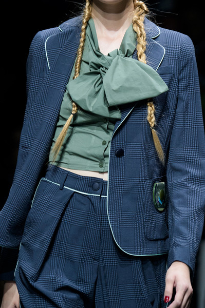 Emporio Armani at Paris Spring 2017 (Details)