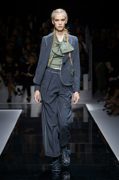 Emporio Armani at Paris Spring 2017
