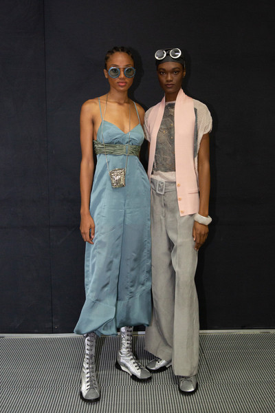Emporio Armani at Milan Spring 2020 (Backstage)