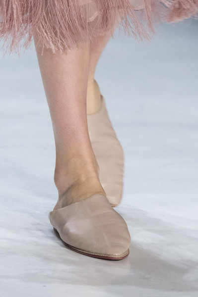 Erin Fetherston at New York Fall 2017 (Details) [footwear,shoe,pink,leg,human leg,fashion,joint,ankle,close-up,beige,shoe,shoe,ballet flat,supermodel,foot,haute couture,runway,calf,meter,new york fashion week,shoe,high-heeled shoe,ballet flat,haute couture,sandal,supermodel,runway,calf,meter,foot]