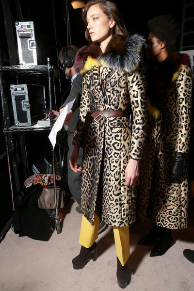 Ermanno Scervino at Milan Fall 2016 (Backstage)