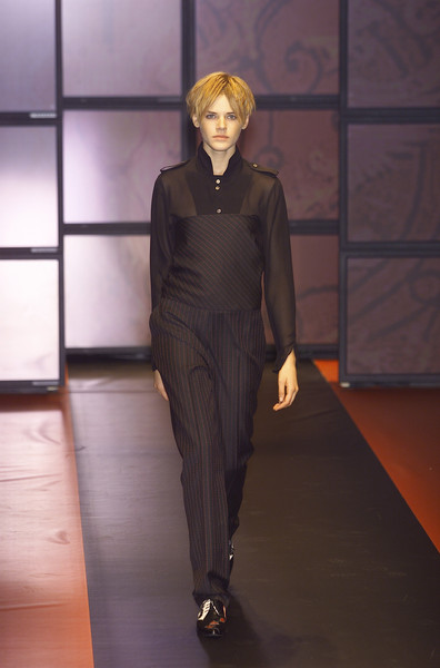 Etro at Milan Fall 2001