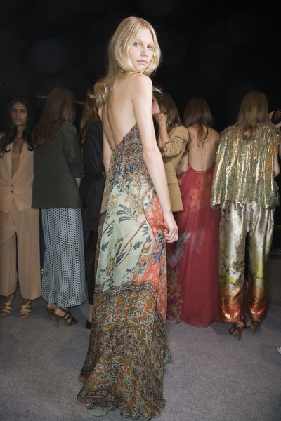 Etro at Milan Spring 2009 (Backstage)