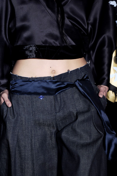 Evisu at Milan Fall 2006 (Details)