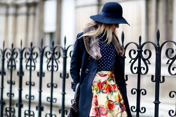 The Most Standout Street Style at Paris Fashion Week Fall 2014