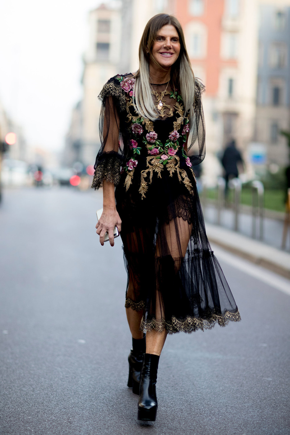 Sheer Style The Street Style At Milan Fashion Week Was Seriously Chic Livingly