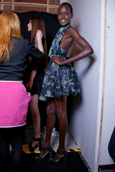 Felder Felder at London Spring 2013 (Backstage)