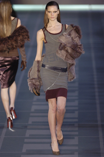 Fendi at Milan Fall 2004