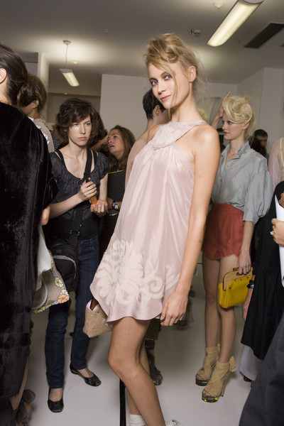 Fendi at Milan Spring 2010 (Backstage)