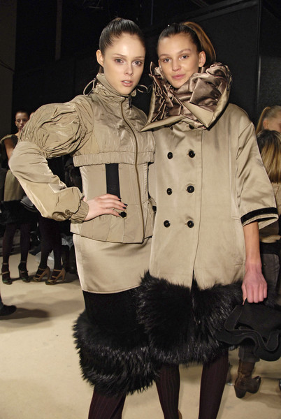 Gaetano Navarra at Milan Fall 2008 (Backstage)