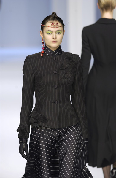 Gai Mattiolo at Milan Fall 2002