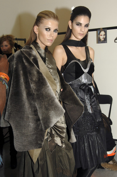Gardem at London Fall 2007 (Backstage)