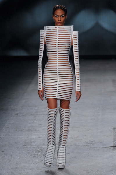 Gareth Pugh at Paris Spring 2012