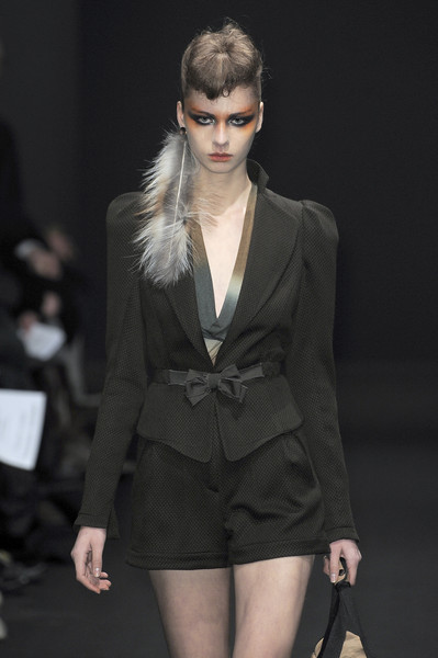 Gaspard Yurkievich at Paris Fall 2010