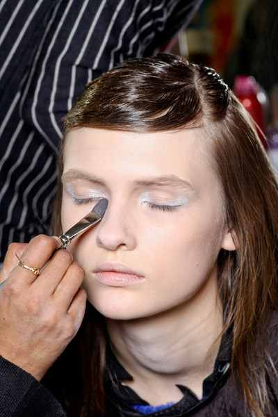 Giambattista Valli at Paris Fall 2012 (Backstage)