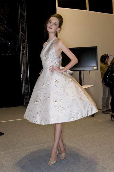Giambattista Valli at Paris Spring 2009 (Backstage)