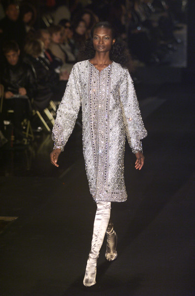 Gianfranco Ferré at Milan Fall 2001