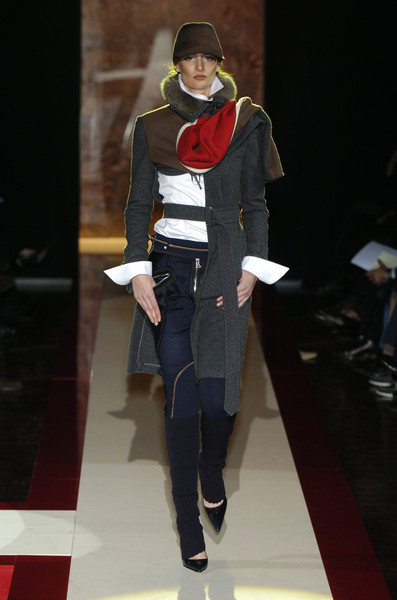 Gianfranco Ferré at Milan Fall 2004