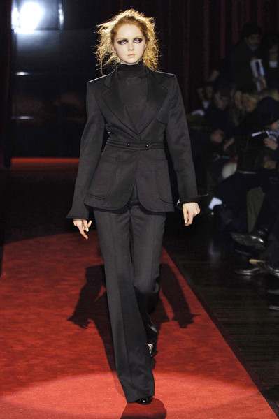 Gianfranco Ferré at Milan Fall 2006