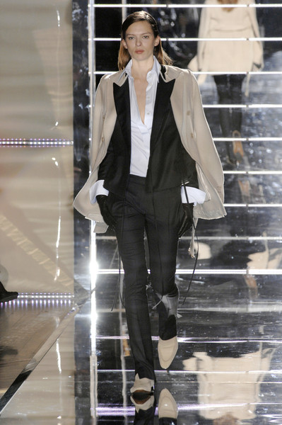 Gianfranco Ferré at Milan Fall 2007