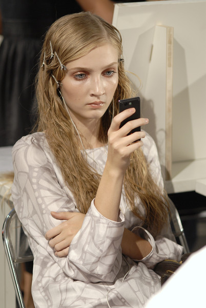 Gianfranco Ferré at Milan Spring 2008 (Backstage)