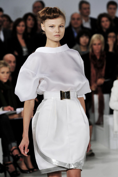 Gianfranco Ferré at Milan Spring 2009