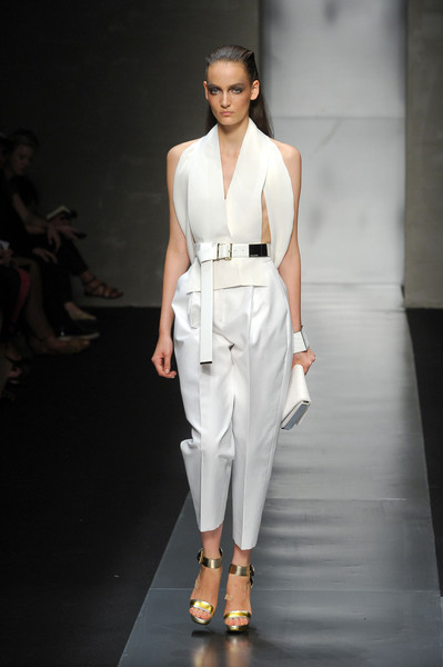 Gianfranco Ferré at Milan Spring 2012