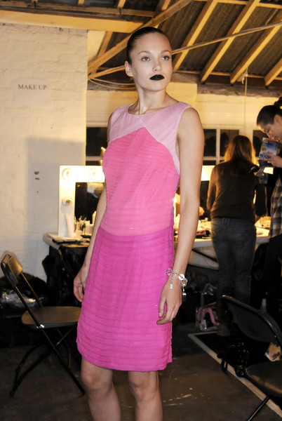 Giles at London Fall 2008 (Backstage)
