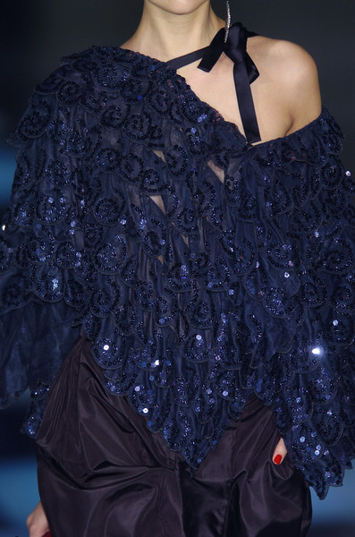 Giorgio Armani at Milan Fall 2005 (Details)