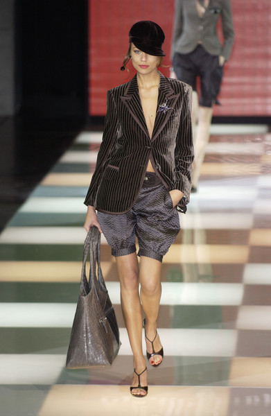 Giorgio Armani at Milan Fall 2005