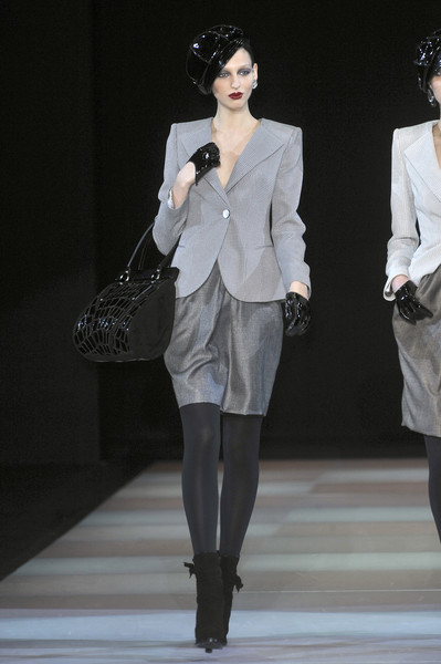 Giorgio Armani at Milan Fall 2009