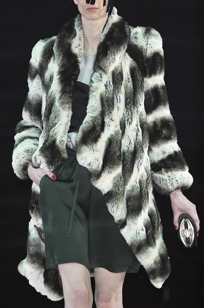 Giorgio Armani at Milan Fall 2010 (Details)