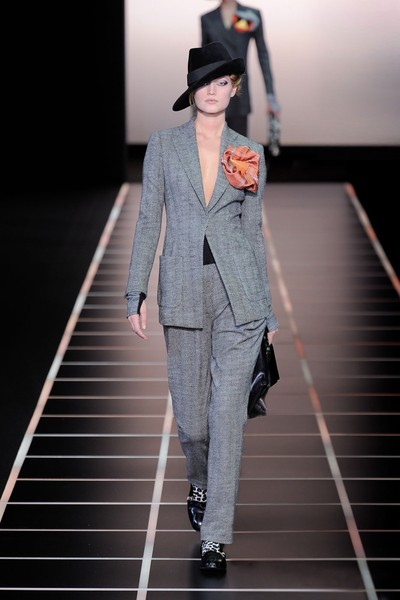 Giorgio Armani at Milan Fall 2012