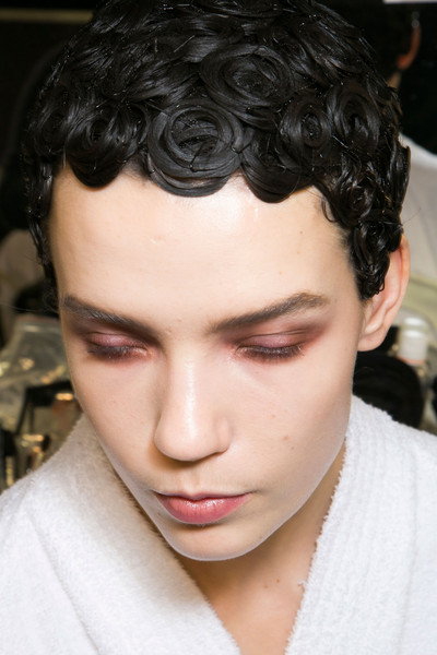 Givenchy at Paris Fall 2013 (Backstage)