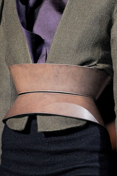 Haider Ackermann at Paris Fall 2012 (Details)