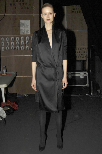 Hamish Morrow at London Fall 2007 (Backstage)