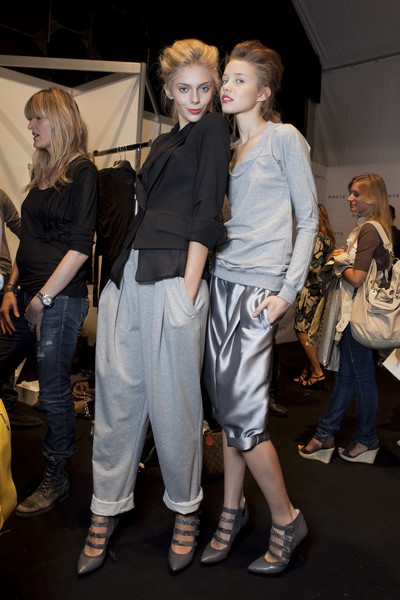 Haute at Milan Spring 2011 (Backstage)