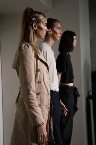 Hood By Air at New York Spring 2016 (Backstage)