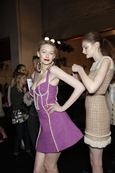 House of Holland at London Fall 2011 (Backstage)