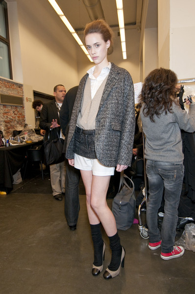 Iceberg at Milan Fall 2010 (Backstage)