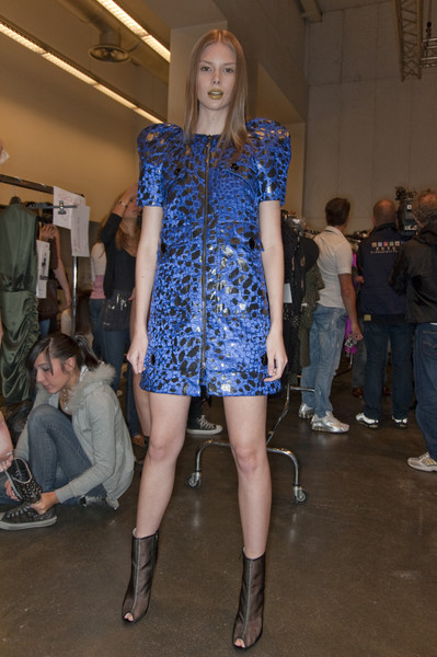 Iceberg at Milan Spring 2010 (Backstage)