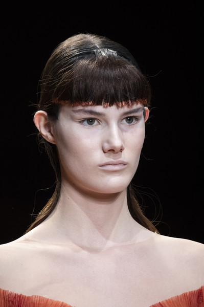 Iris Van Herpen at Couture Spring 2019 (Details) [couture spring 2019,hair,face,fashion,hairstyle,lip,chin,eyebrow,beauty,head,bangs,iris van herpen,supermodel,haute couture,fashion,spring,model,hairstyle,lip,eyebrow,haute couture,iris van herpen,amsterdam,fashion,supermodel,model,spring,booneville/baldwyn airport,clothing]
