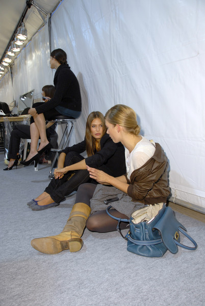 Isabel Marant at Paris Spring 2007 (Backstage)