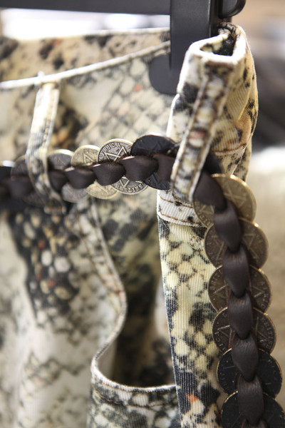 Isabel Marant at Paris Spring 2012 (Backstage)