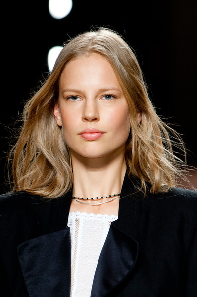 Isabel Marant at Paris Spring 2014 (Details) [hair,face,blond,fashion,hairstyle,fashion model,beauty,eyebrow,lip,long hair,isabel marant,beauty,fashion,runway,hair,spring,model,fashion model,paris fashion week,fashion show,runway,fashion show,chanel,fashion,model,beauty,spring,ready-to-wear]