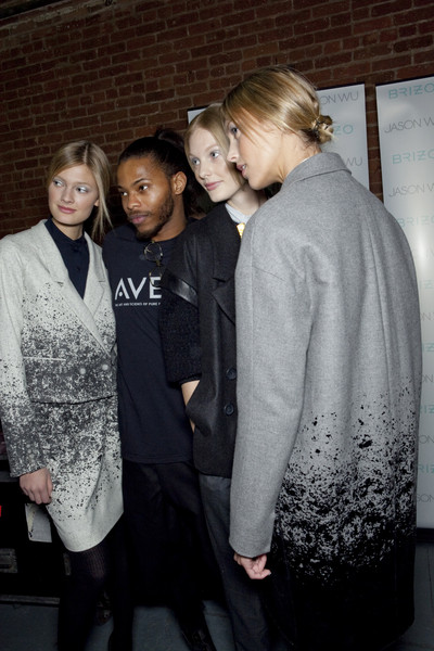 Jason Wu at New York Fall 2010 (Backstage)